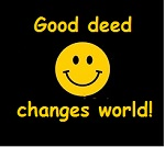 Good deed changes world