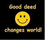 Good deed changes world